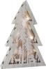 Albero di Natale con luci Shabby Chic, piccolo