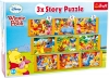 Story Puzzle 3 in 1 «Winnie the Pooh»